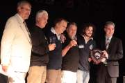 The Presentation of the award for the Champion Beer of Britain 2008 to the Triple fff brewery for their Alton's Pride