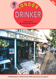 London Drinker December 2019 / January 2020