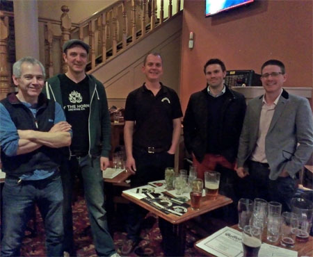 Meet the brewers at the Holland Tringham